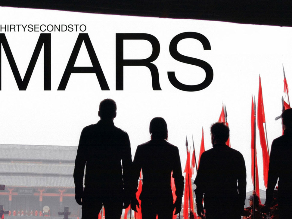 30 Seconds to Mars en concert