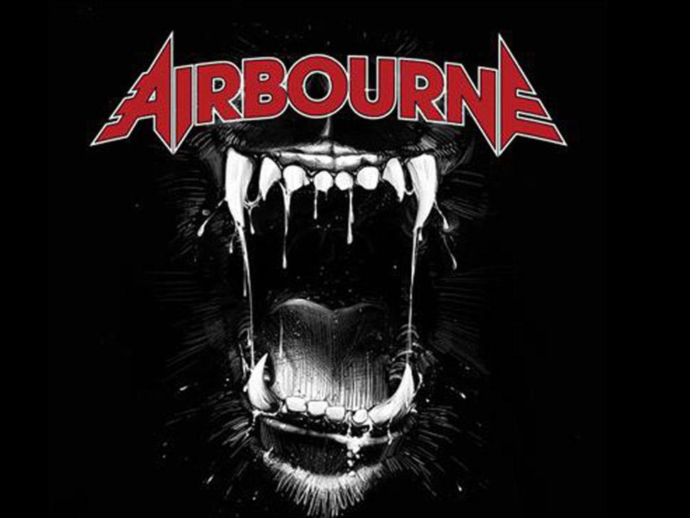 Airbourne en concert