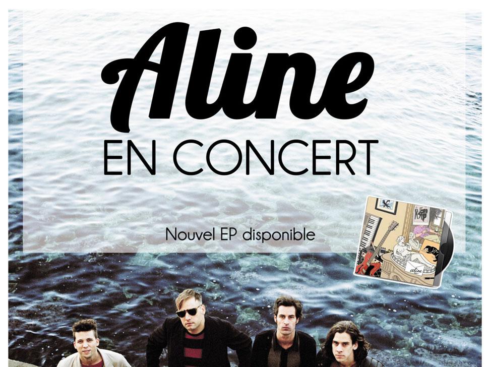 Aline en concert
