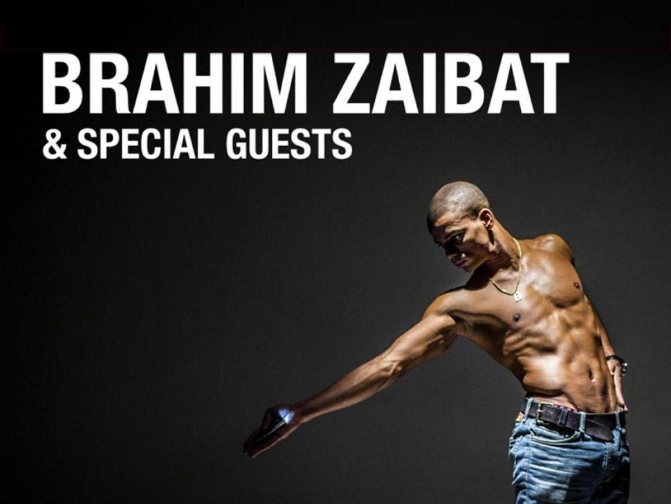 Brahim Zaibat en concert