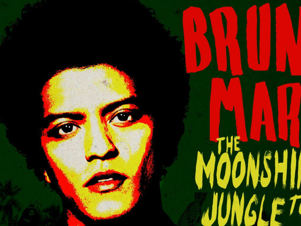 Bruno Mars en concert