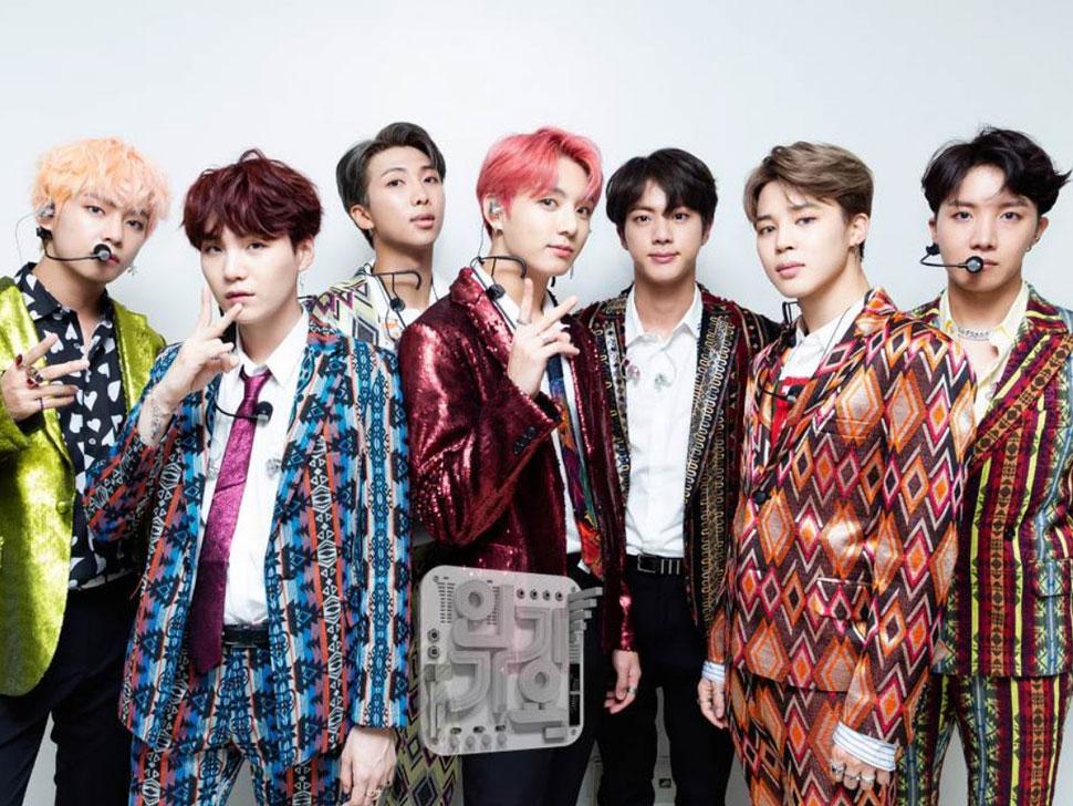 BTS en concert