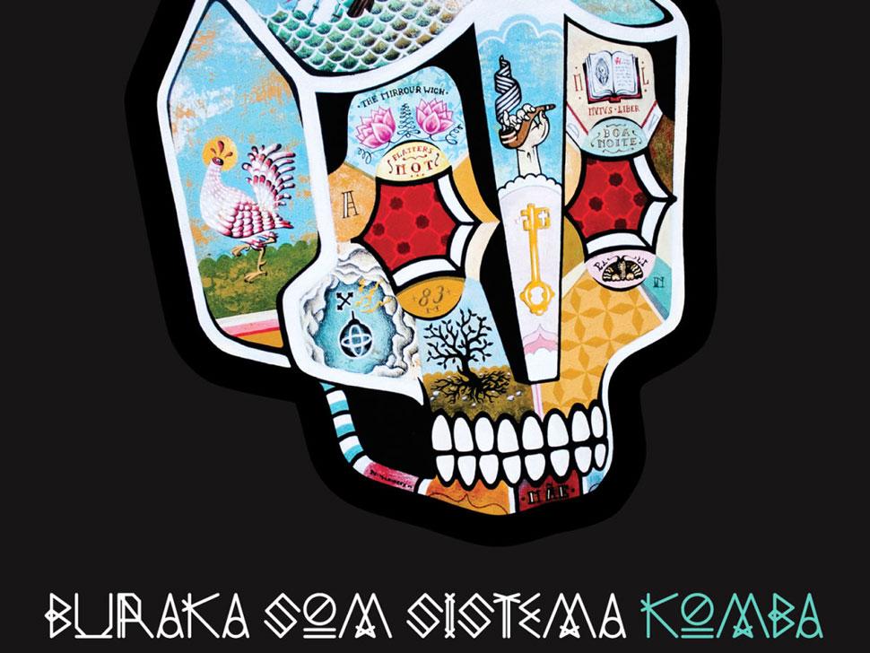 Buraka Som Sistema en concert