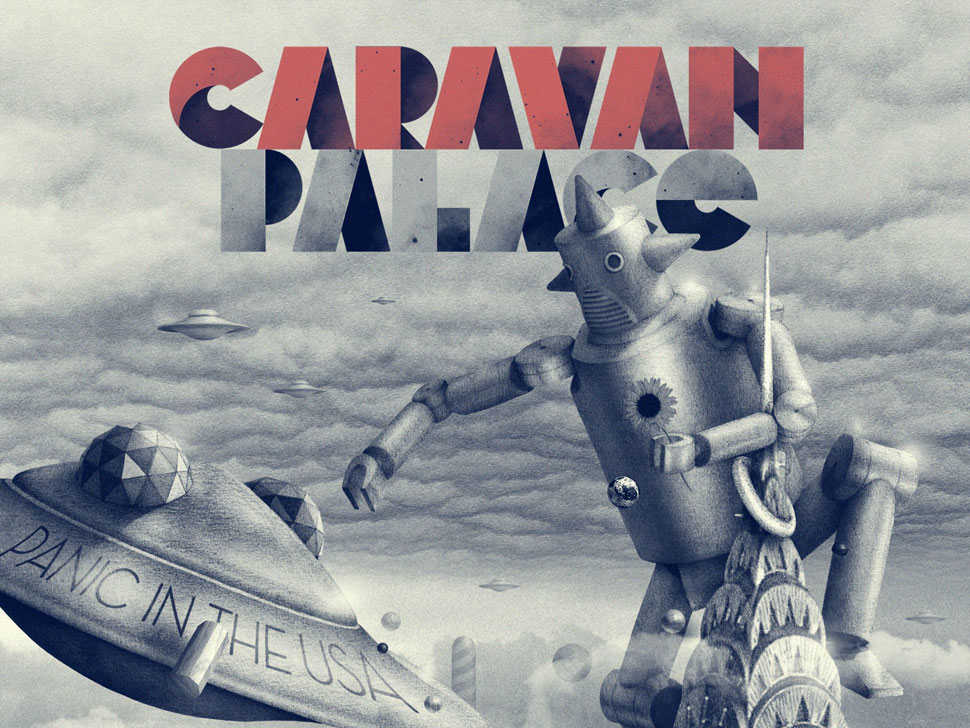 Caravan Palace en concert