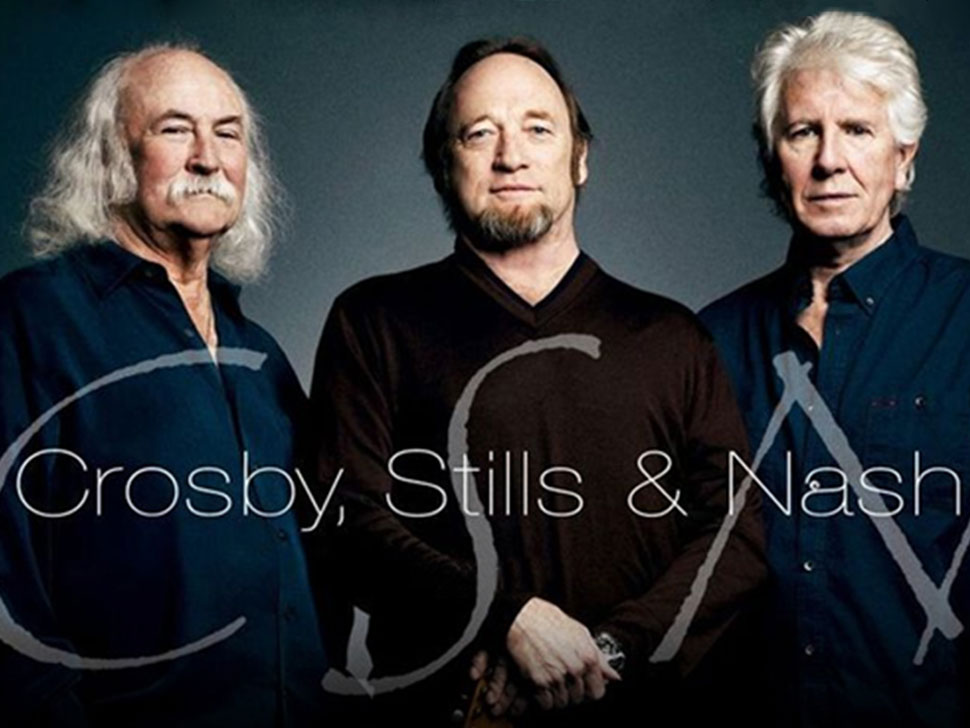 Crosby Stills and Nash en concert