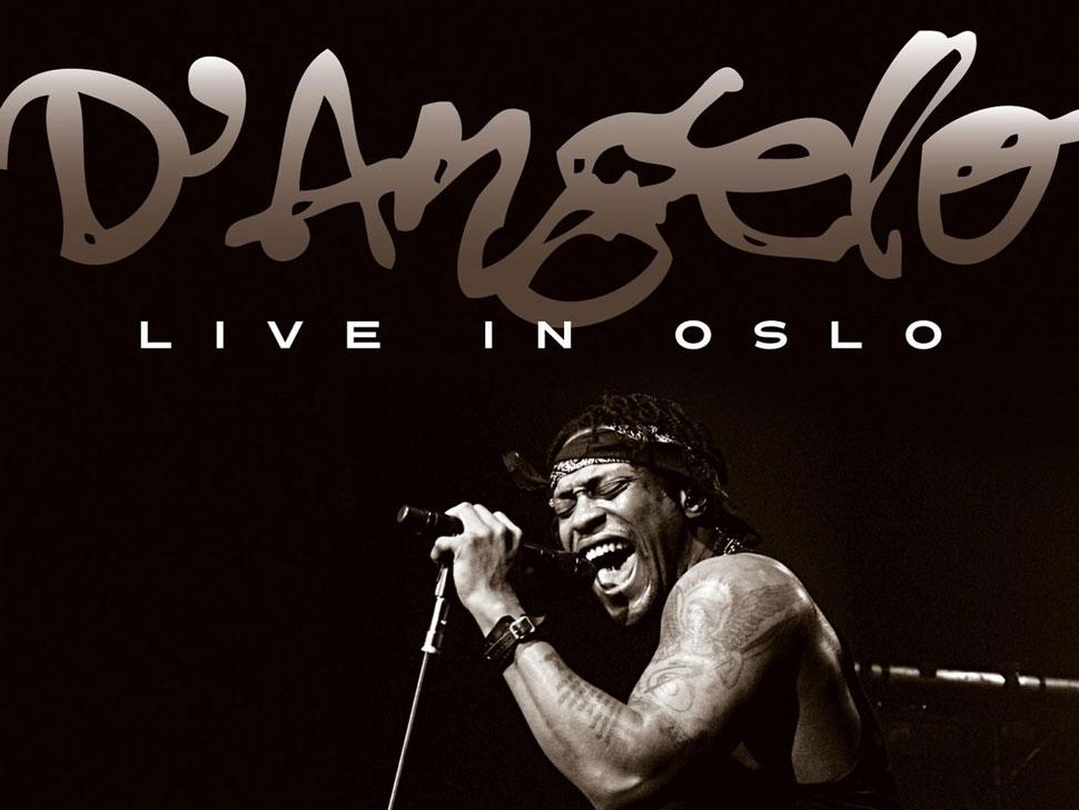 D'Angelo en concert