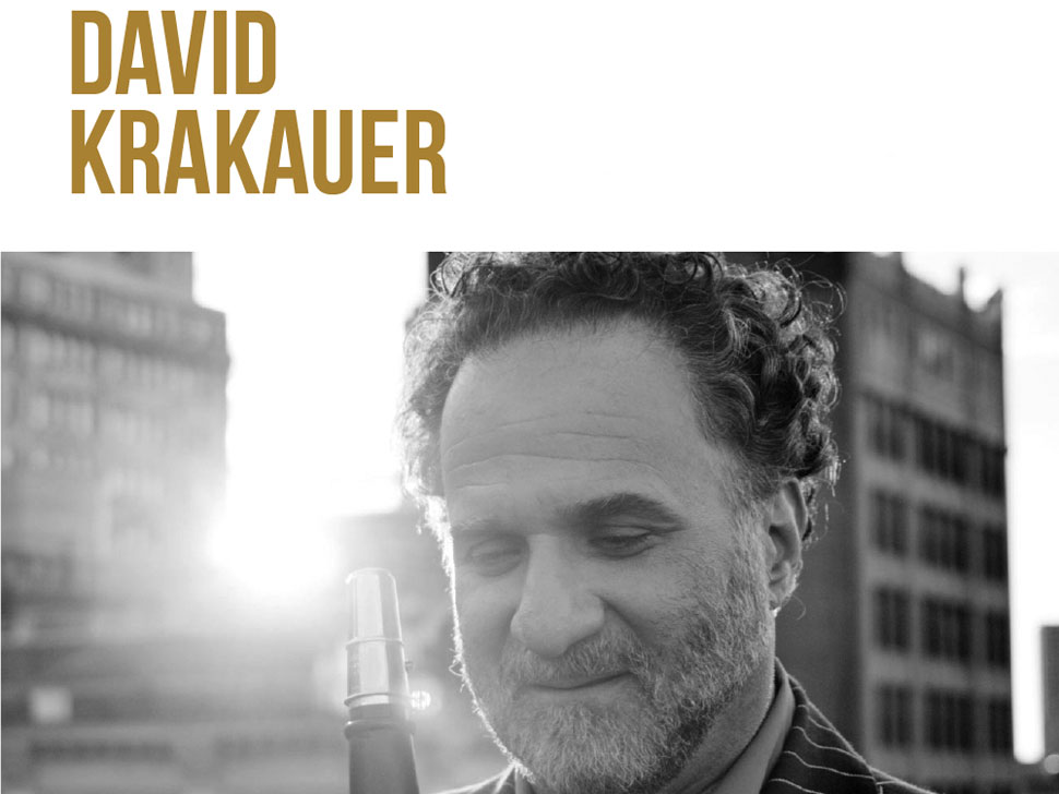 David Krakauer en concert