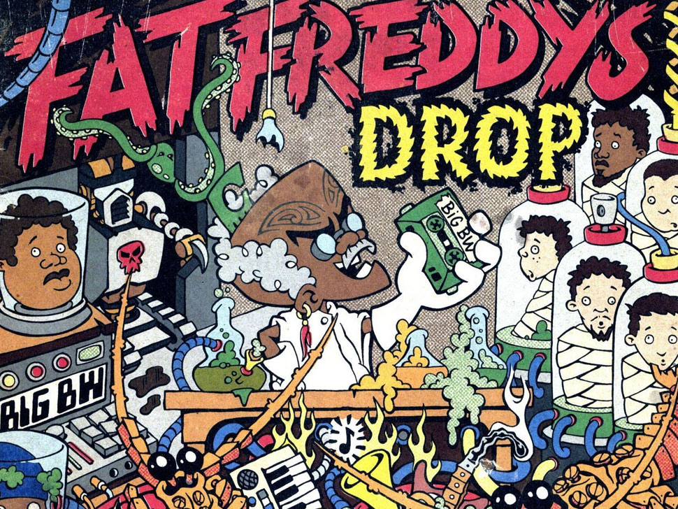 Fat Freddys Drop en concert