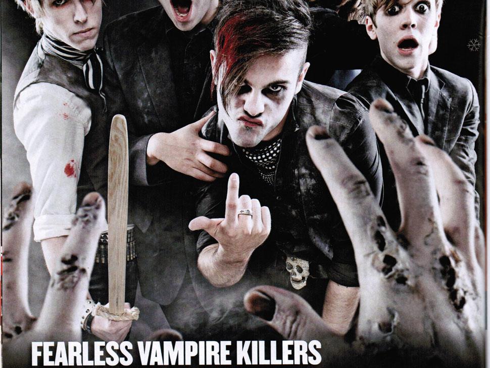 Fearless Vampire Killers en concert