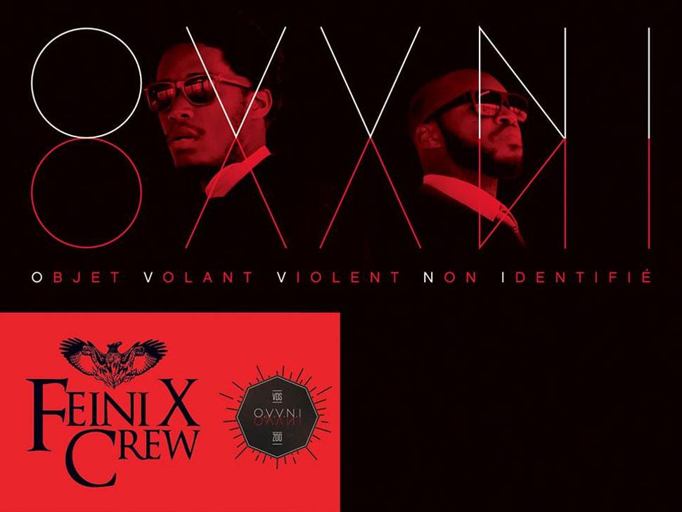 Feini X Crew en concert
