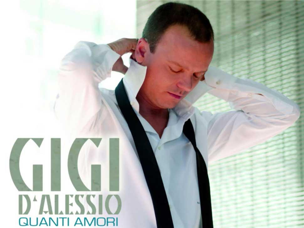Gigi D'Alessio en concert
