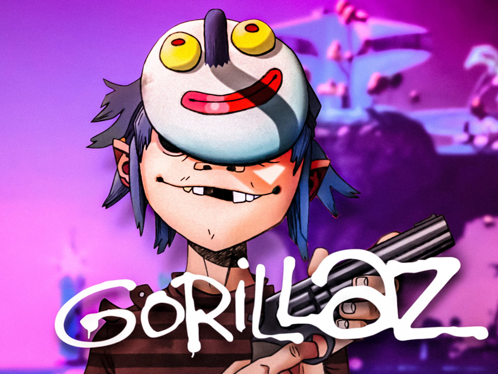 Gorillaz en concert