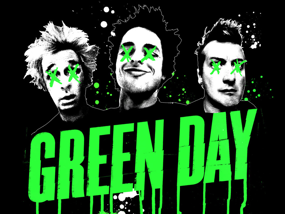 Green Day en concert