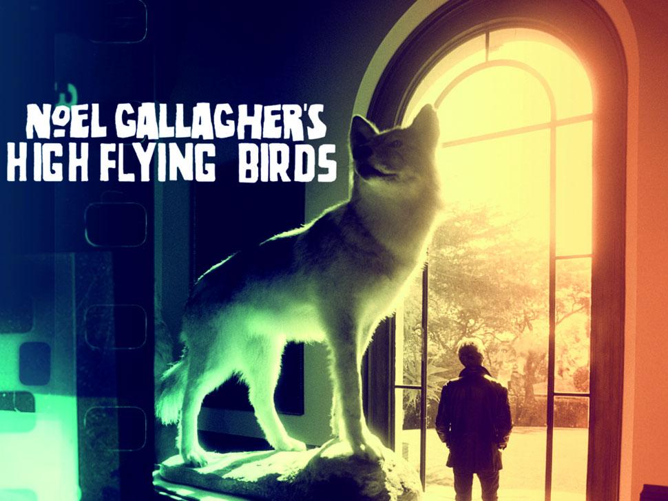 High Flying Birds en concert