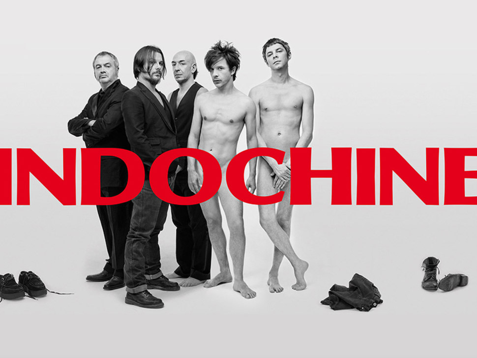 Indochine en concert