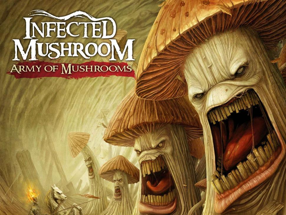 Infected Mushroom en concert