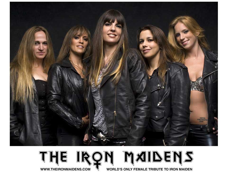 Iron Maidens en concert