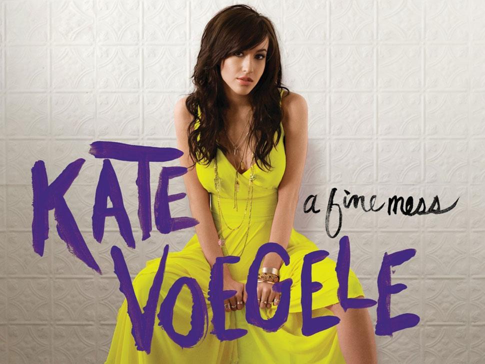 Kate Voegele en concert