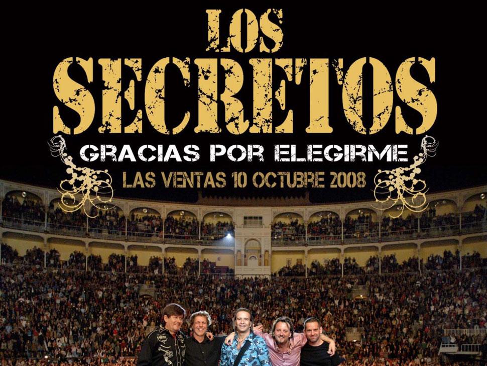 Los Secretos en concert