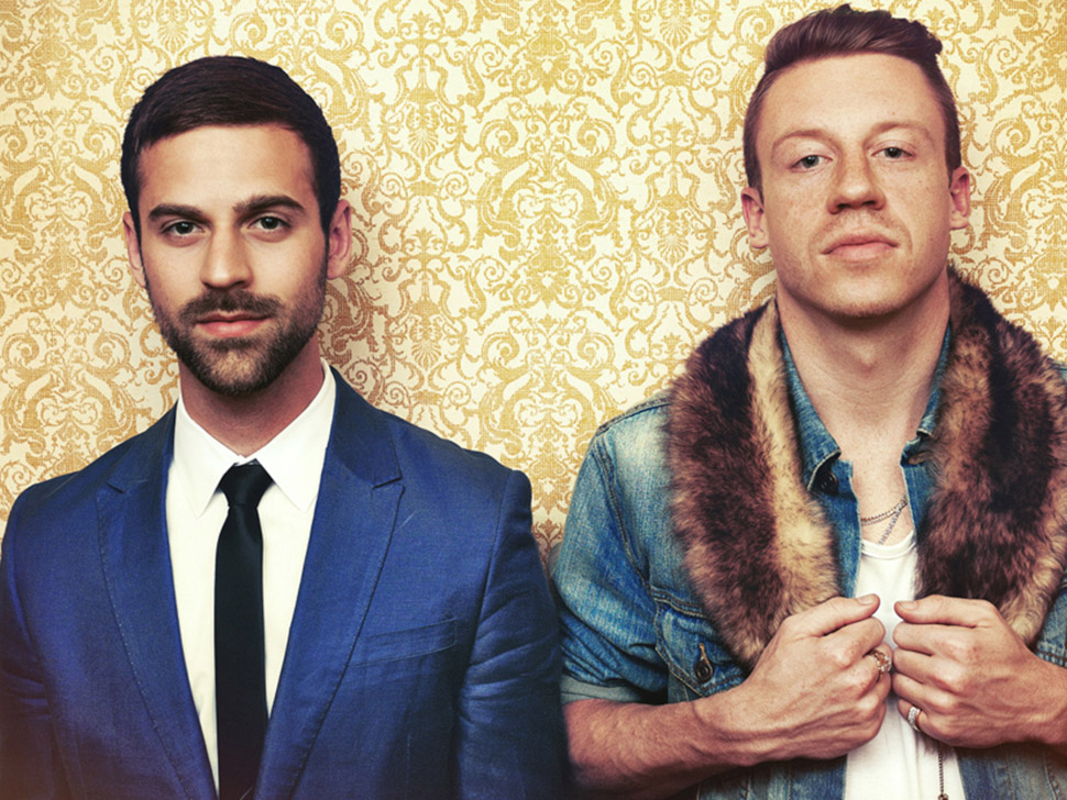Macklemore and Ryan Lewis en concert
