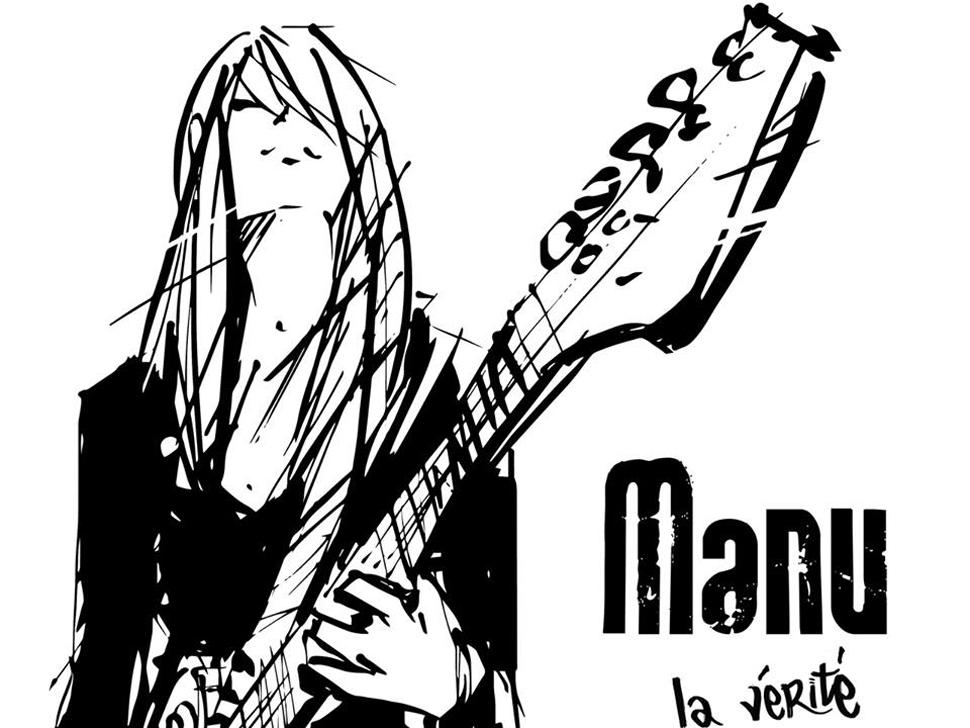 Manu en concert