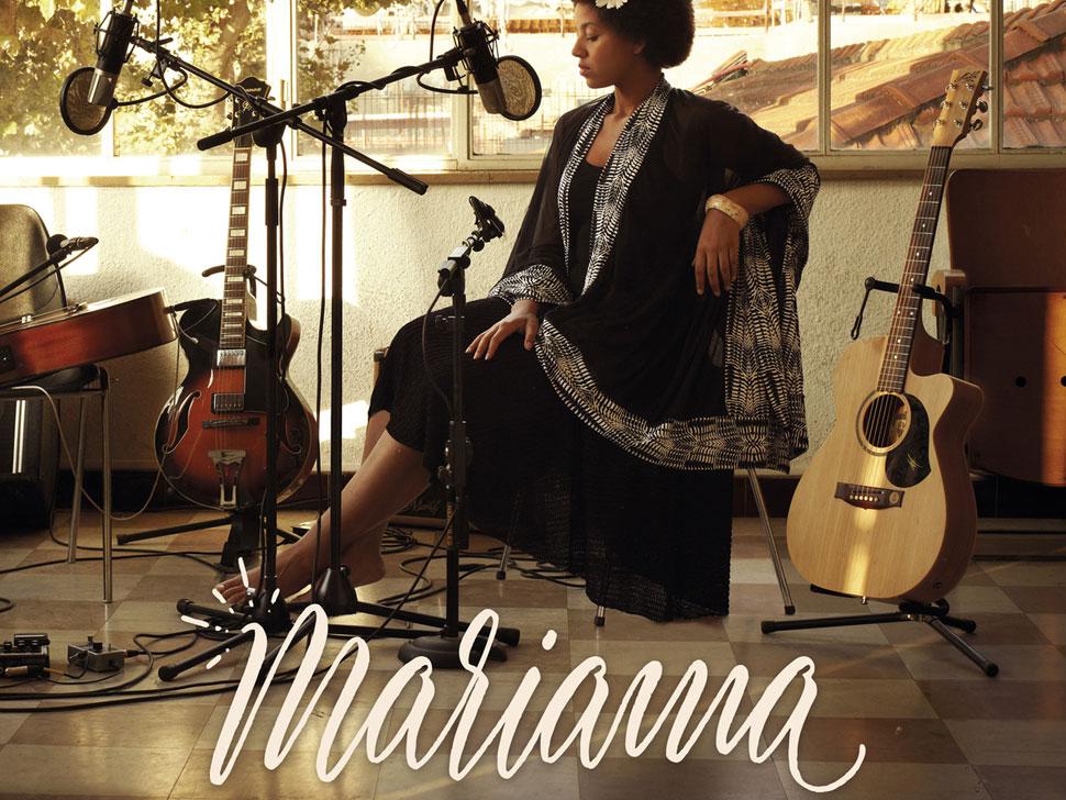 Mariama en concert