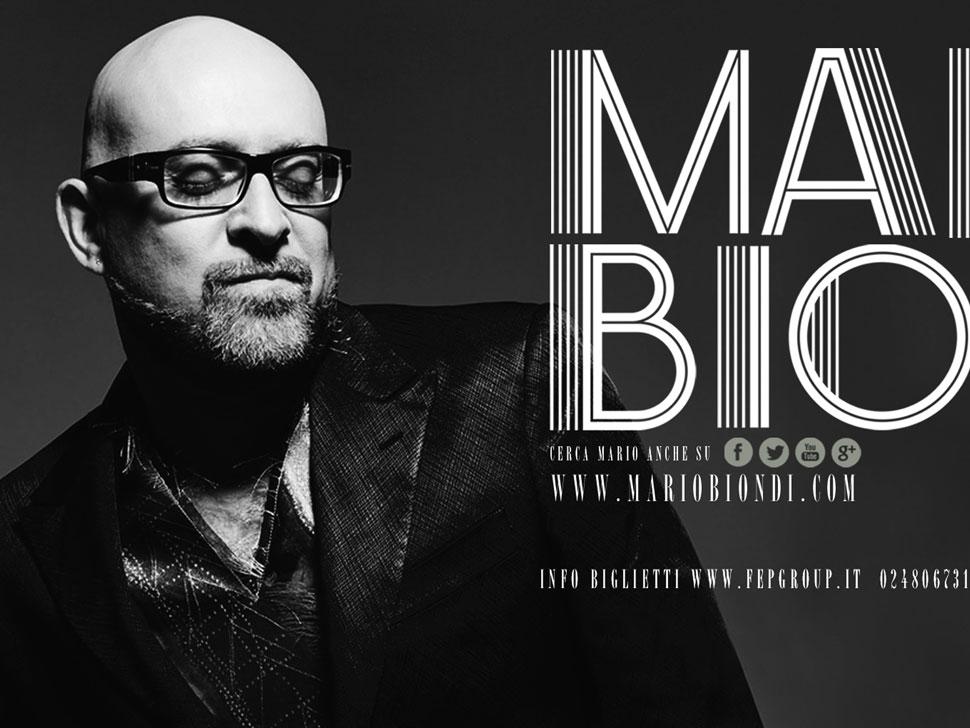 Mario Biondi en concert