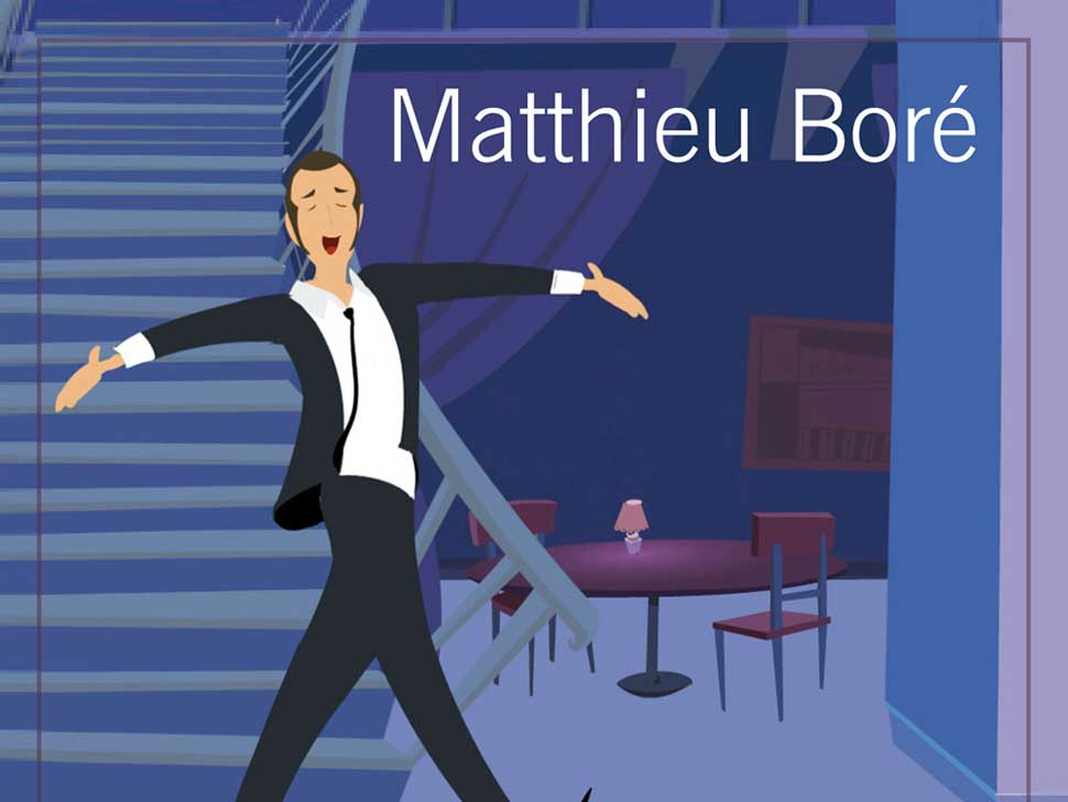 Matthieu Boré en concert
