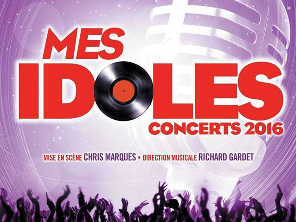 Mes Idoles en concert