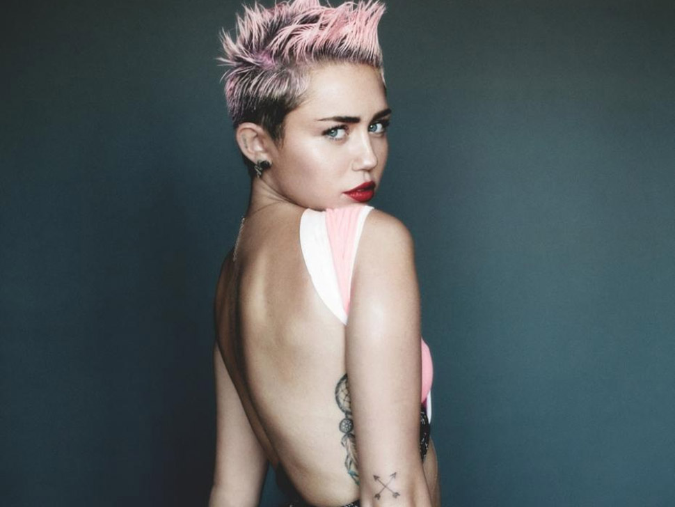 Miley Cyrus en concert