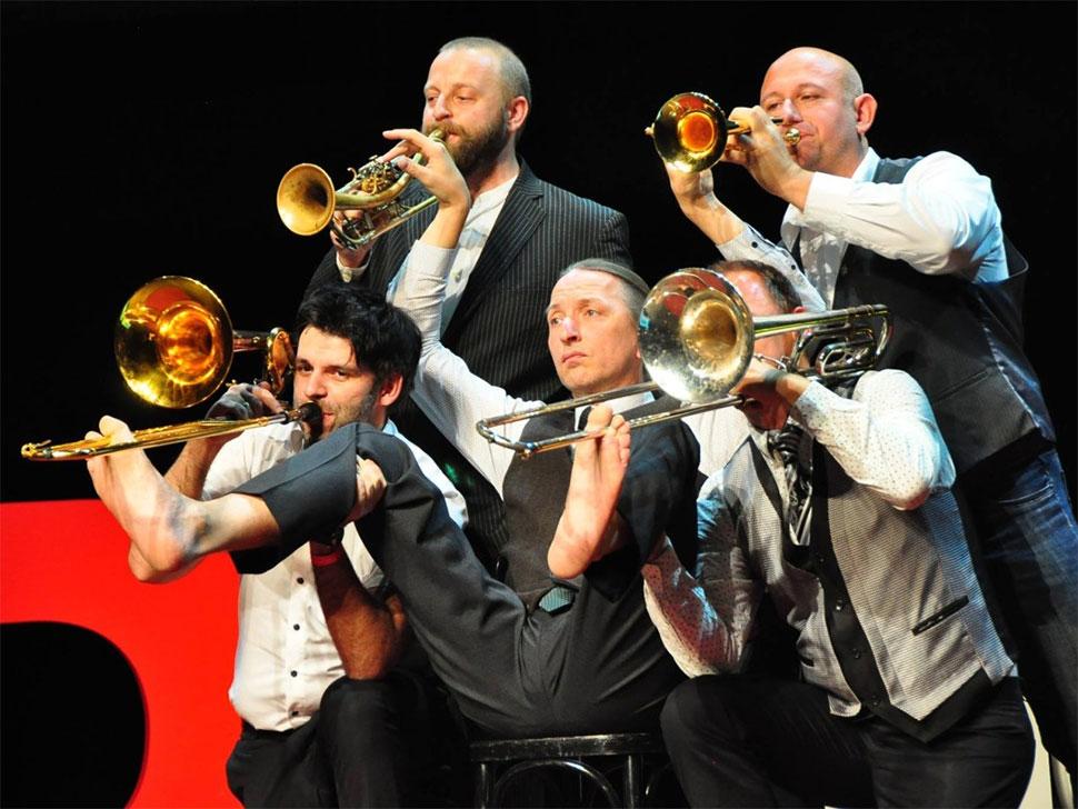 Mnozil Brass  en concert