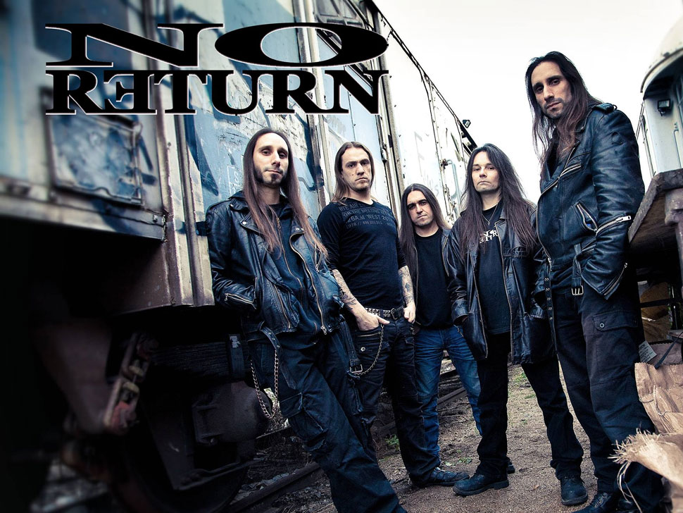 No Return en concert