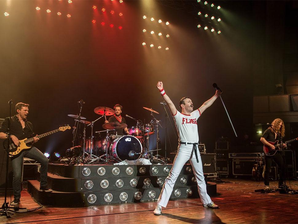 One night of Queen en concert
