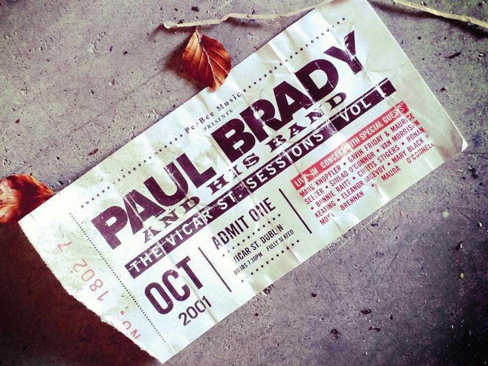 Paul Brady en concert