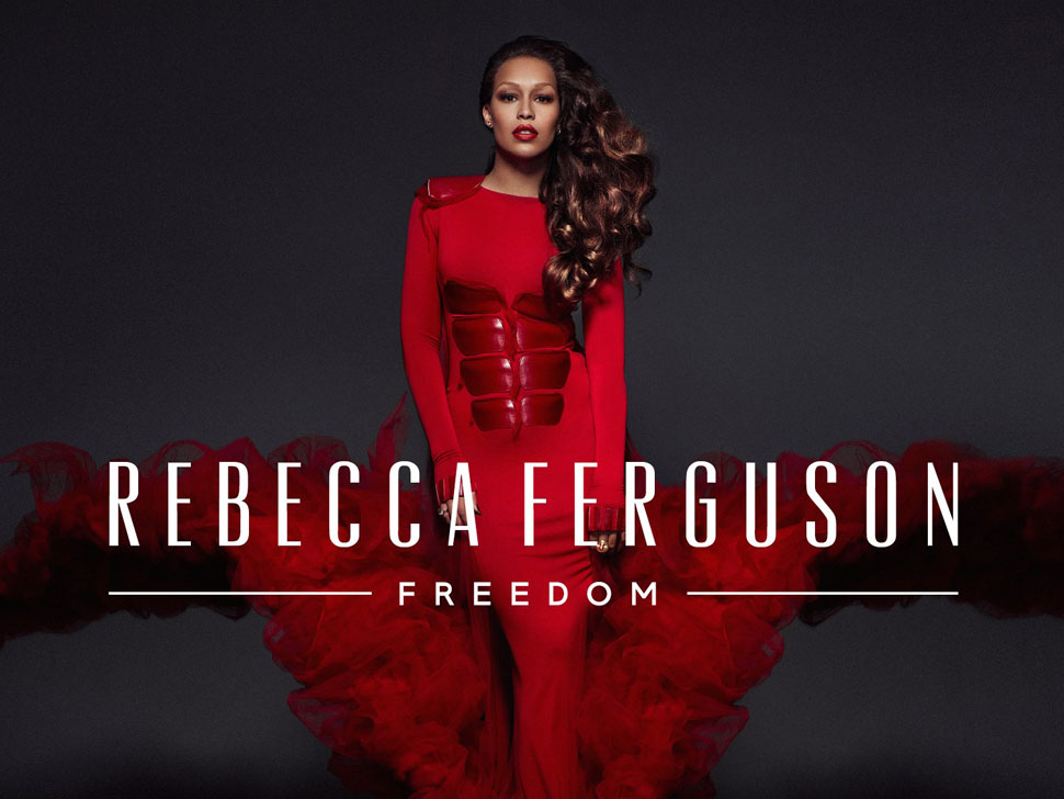 Rebecca Ferguson en concert