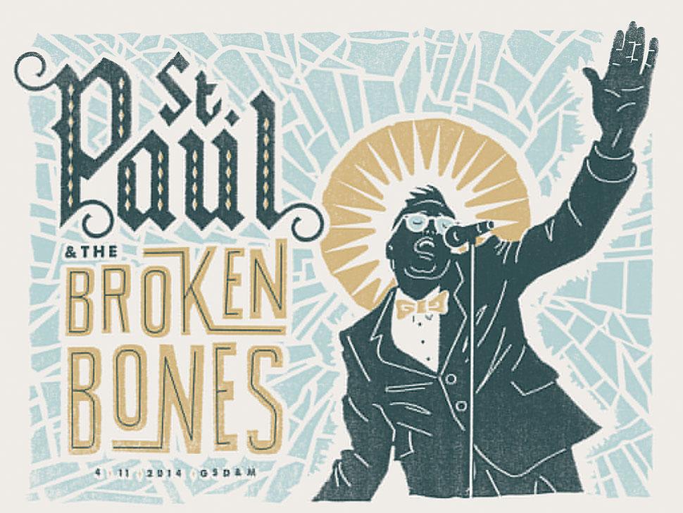 St Paul and The Broken Bones en concert