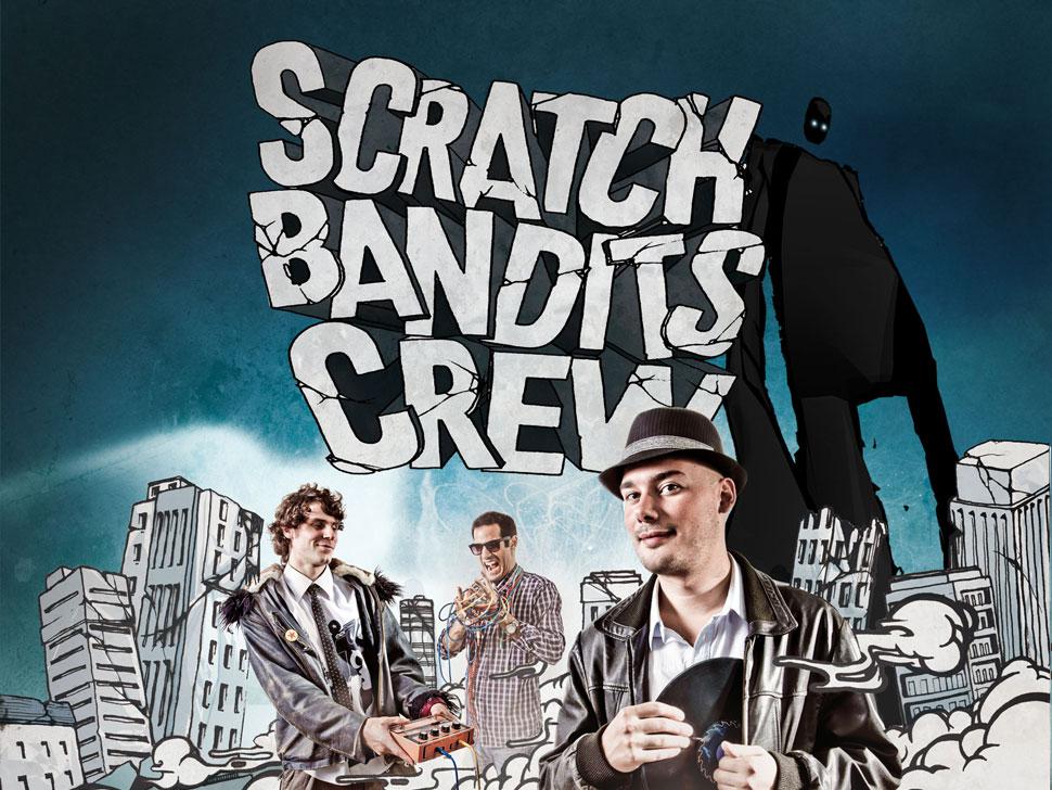 Scratch Bandits Crew en concert
