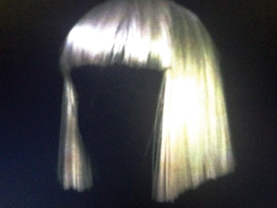 Sia en concert