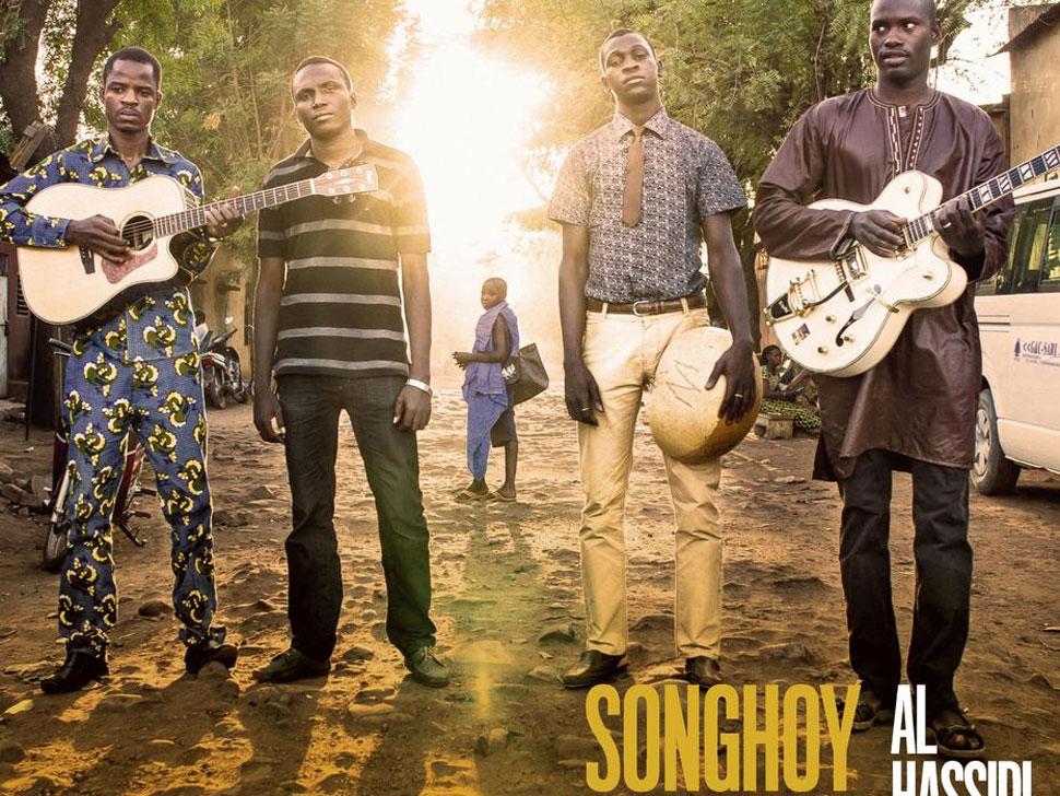 Songhoy Blues en concert
