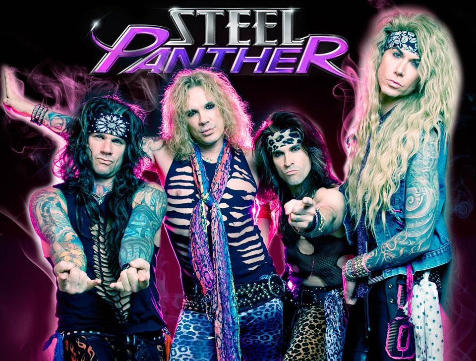 Steel Panther en concert
