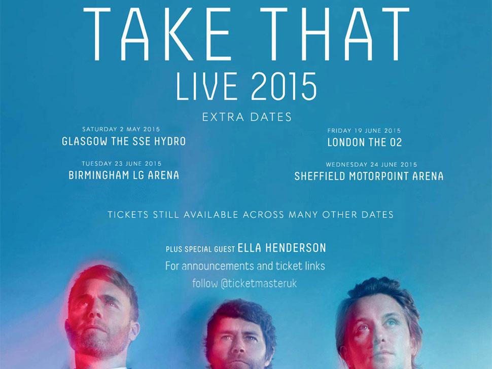 Take That en concert