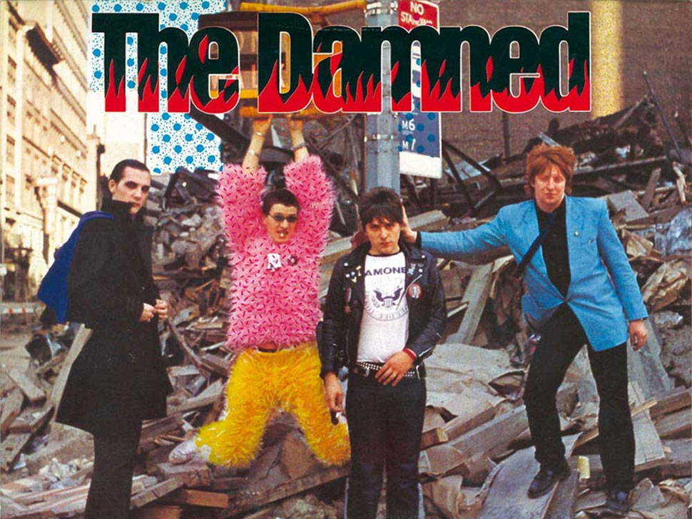 The Damned en concert