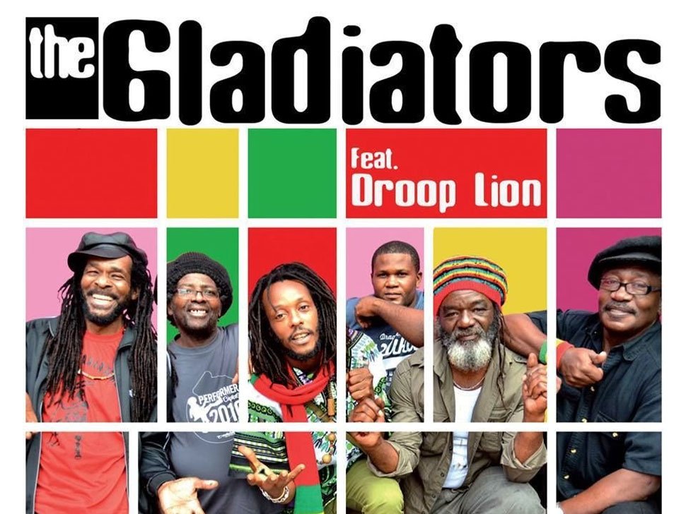 The Gladiators en concert