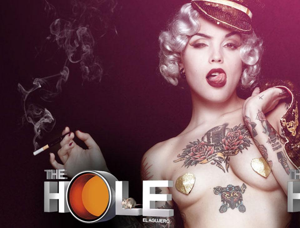 The Hole en concert