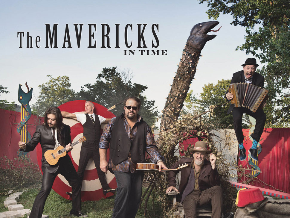 The Mavericks en concert