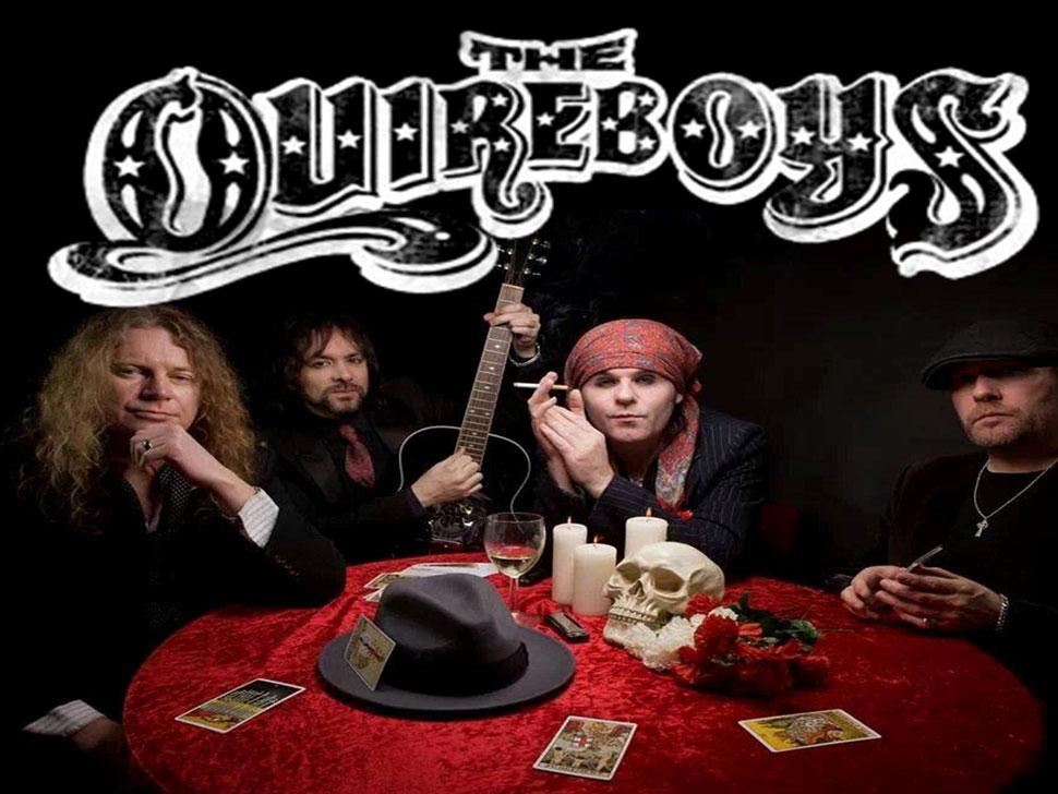 The Quireboys en concert