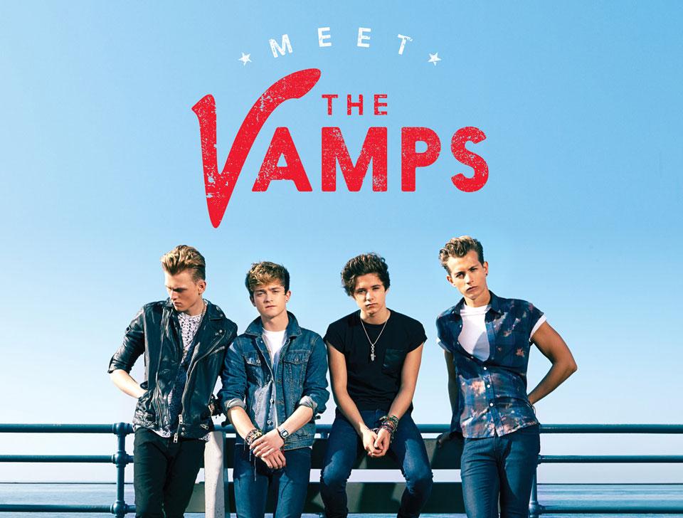 The Vamps en concert