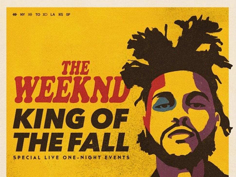 The Weeknd en concert