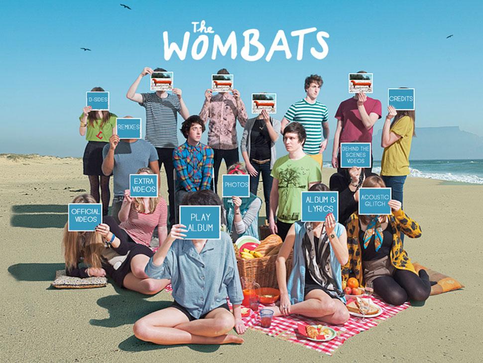 The Wombats en concert
