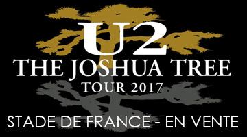 Place concert U2 Stade de France 2017